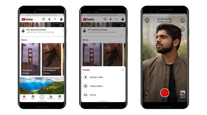 YouTube Shorts, nova ferramenta de vídeos curtos do YouTube