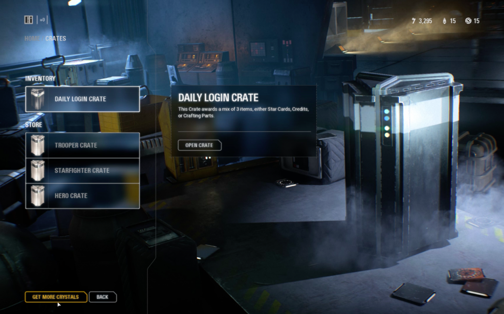Loot Boxes Star Wars Battlefront