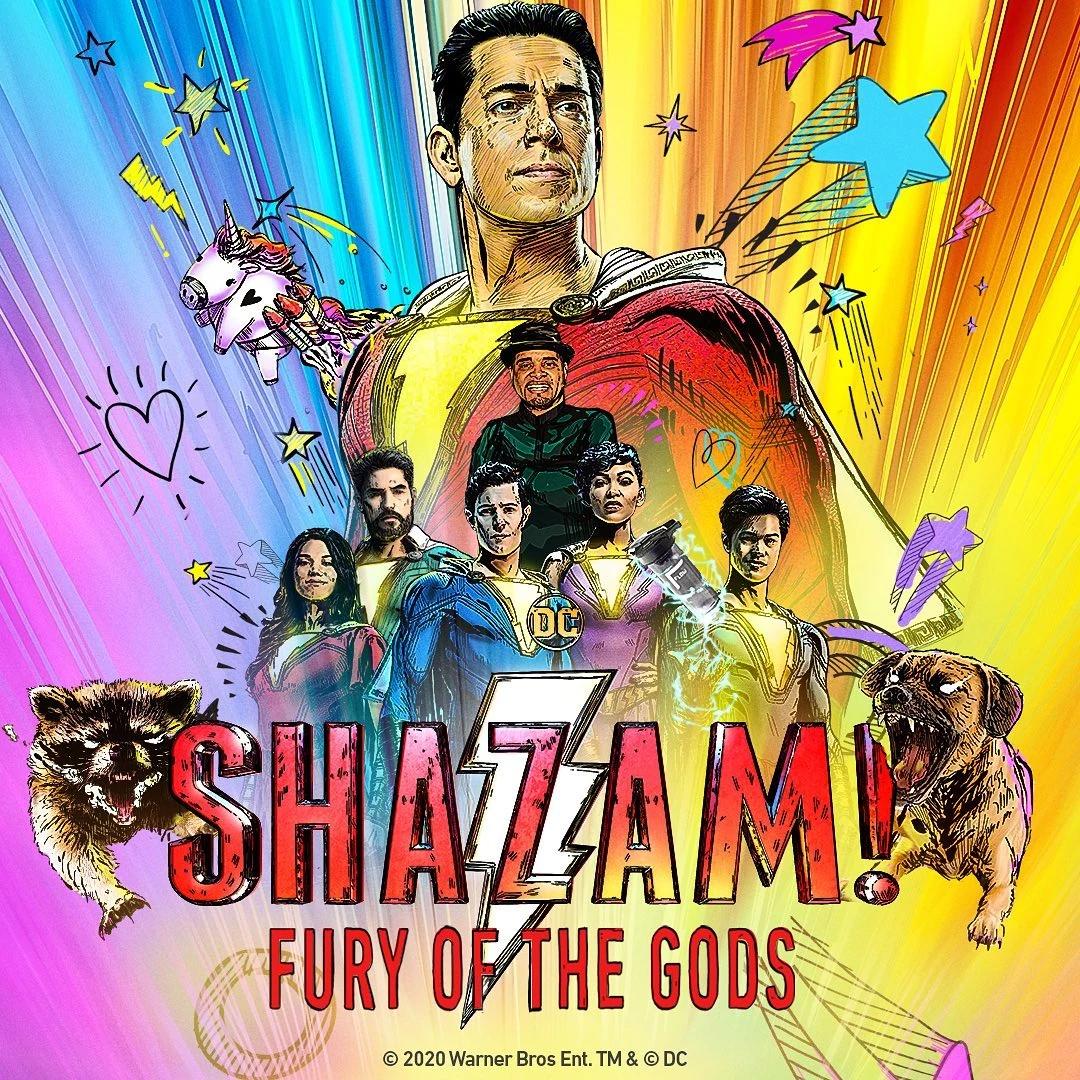 Shazam 2 está marcado para sair no dia 2 de junho de 2023