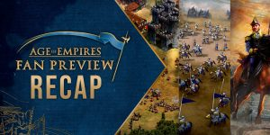 Evento fan preview para age of empires 4