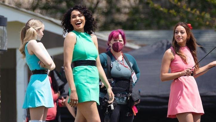Visual das Meninas Super Poderosas no live-action da CW (Imagem: Reprodução/Twitter)
