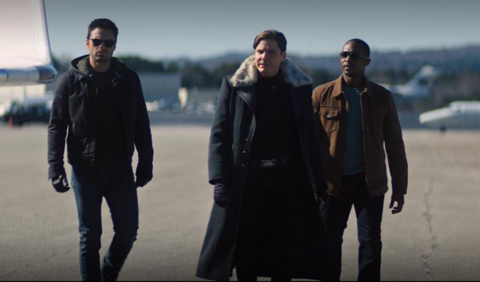 Sam, Bucky e Barão Zemo