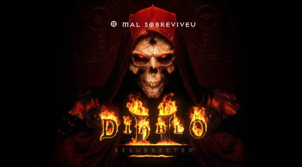 imagem promocional de diablo 2 ressurrected