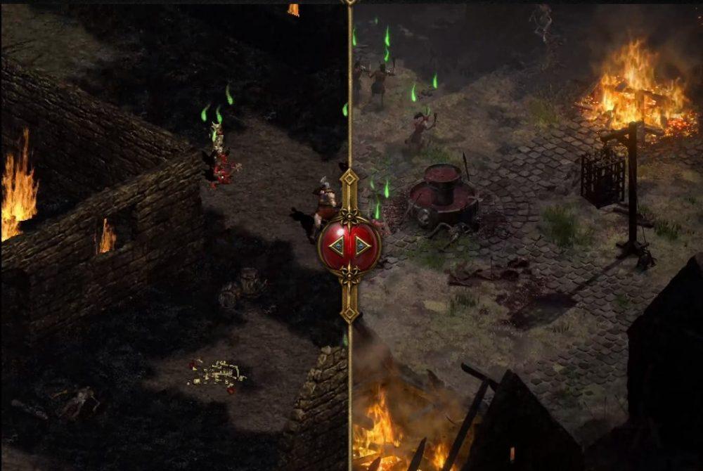 gráficos remasterizados de diablo 2