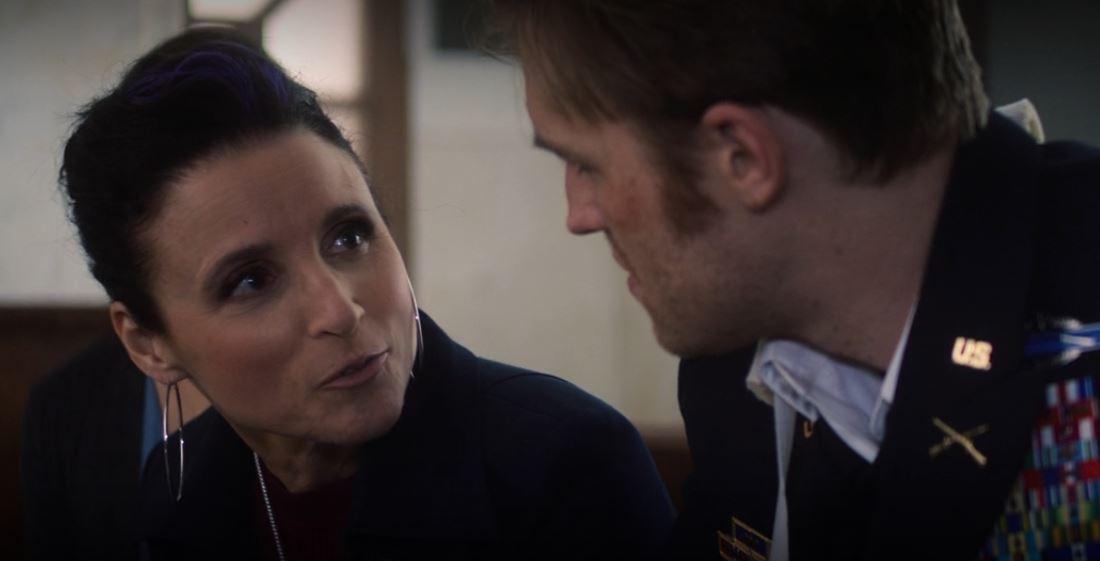 A Condessa Valentina Allegra de Fontaine conversando com John Walker