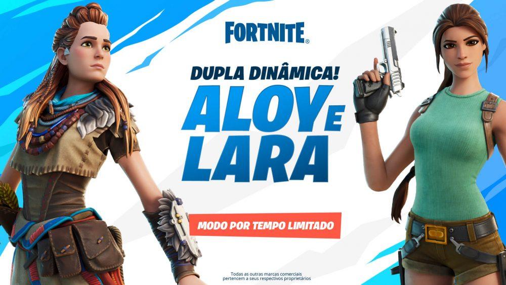 Se una à Lara Croft e Aloy no modo temporário Dupla Dinâmica