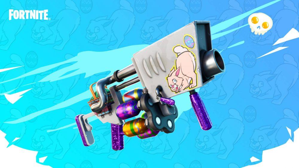 Lança-ovos é um lança granadas que pode ser comprado de Webster