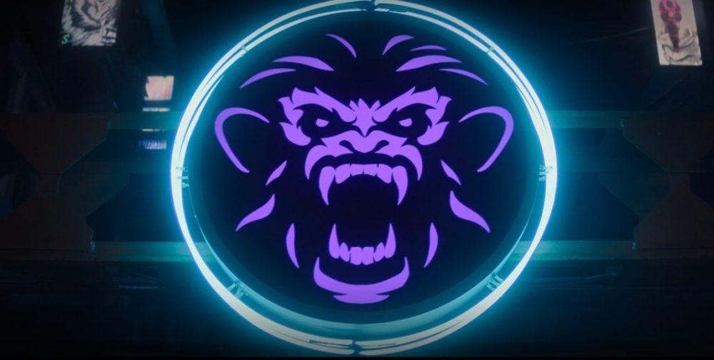Símbolo de Hit-Monkey, o macaco assassino das HQs da Marvel