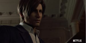 Leon Kennedy em Resident Evil: No Escuro Absoluto