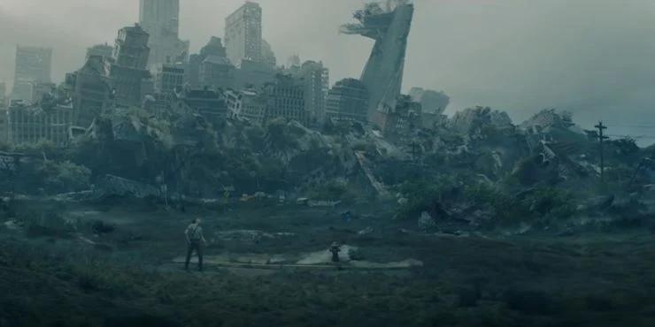 Loki - Trailer da série mostra uma linha temporal onde a cidade de Nova Iorque foi destruída
