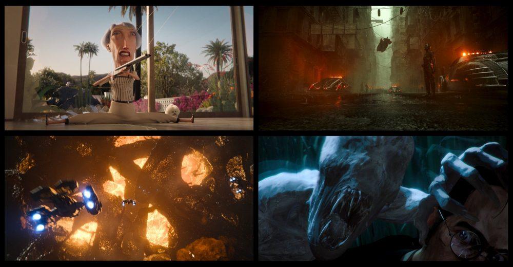 Primeiras imagens da segunda temporada de Love, Death & Robots