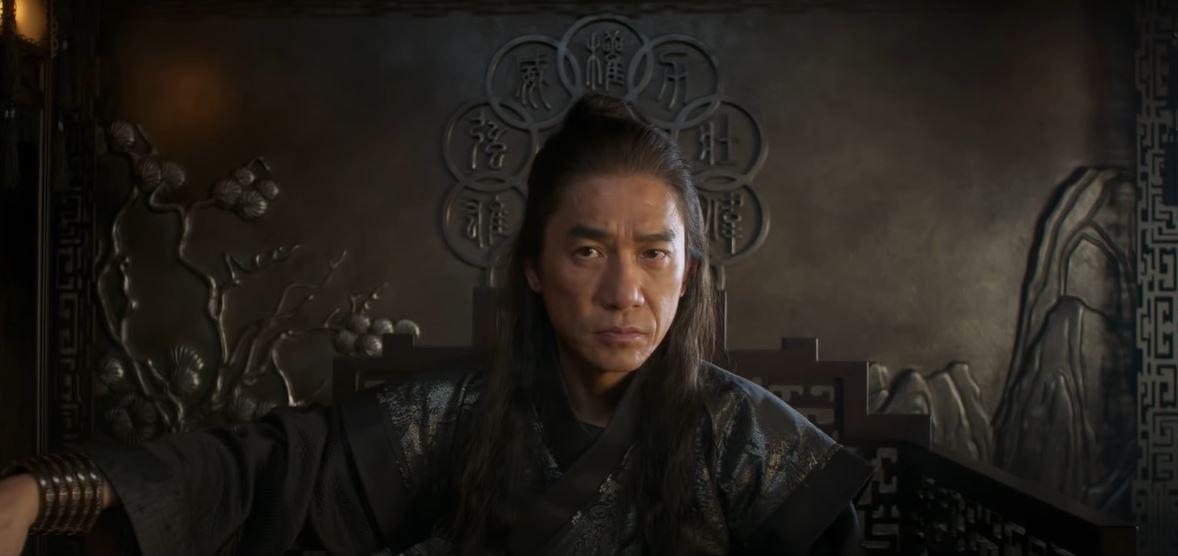 O vilão e pai de Shang-Chi, conhecido como Mandarim