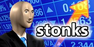 Fortnite vai ganhar skin do meme Stonks