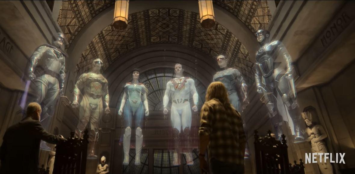 O Legado de Júpiter, nova série da Netflix