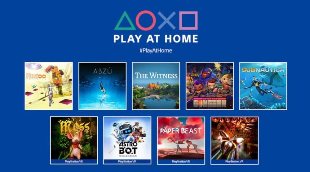 Play at home traz vários jogos gratuitos em abril