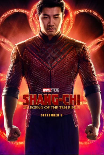 Novo pôster de Shang-Chi e a Lenda dos Dez Anéis