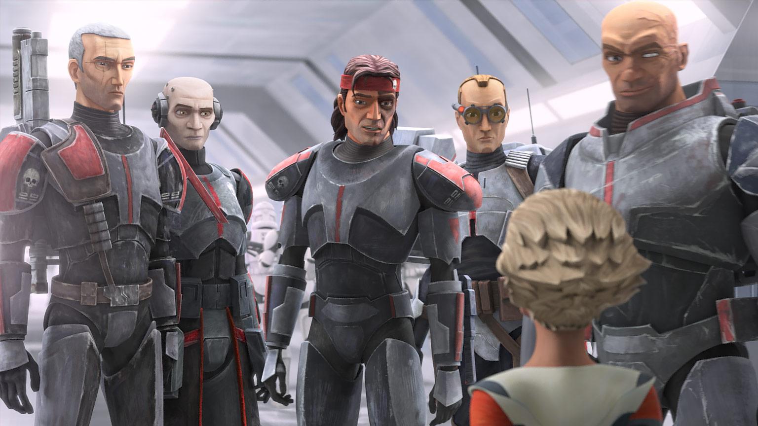 Cena do trailer de Star Wars: The Bad Batch