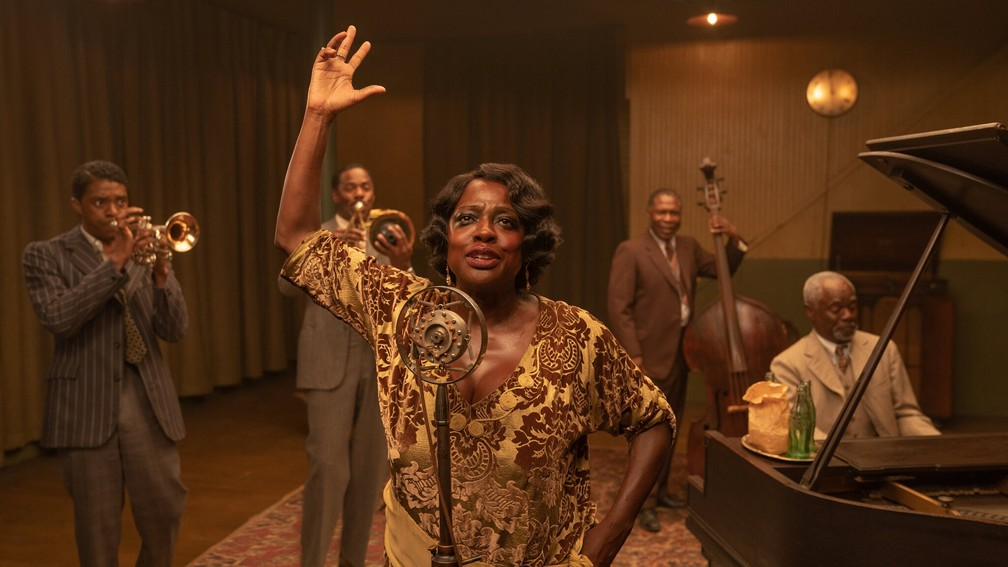 Viola Davis em A Voz Suprema do Blues