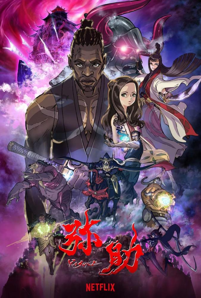 Yasuke - sinopse do anime