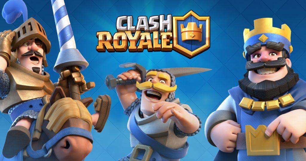 Jogos de Cartas Grátis para Celular - Clash Royale