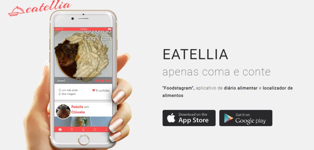 Eatellia - melhores aplicativos para viagem