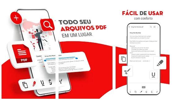 Imagem de divulgação do PDF Reader (Imagem: Reprodução/Trusted App)