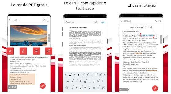 Algumas das funções do PDF Visualizador Leve (Imagem: Reprodução/GOVO TECH)