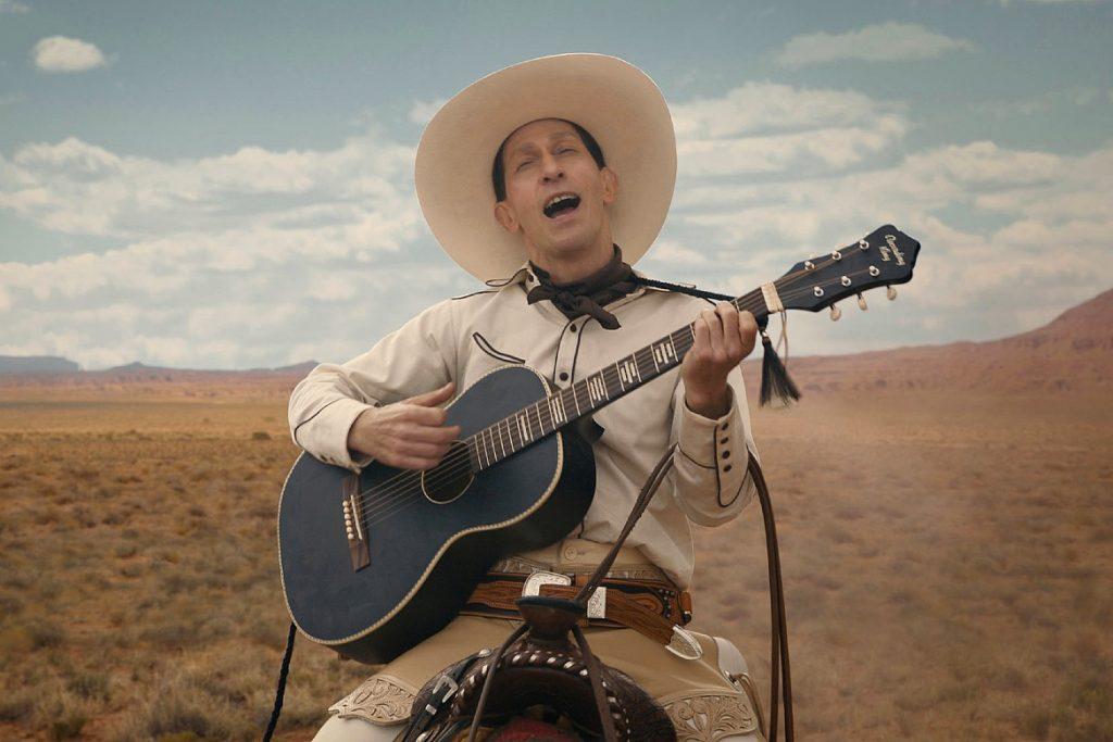 Cena da história The Ballad of Buster Scruggs no filme de mesmo nome (Imagem: Divulgação/Netflix)