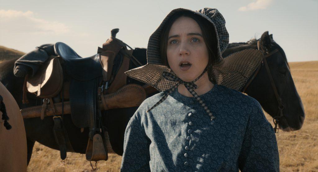 Cena da história The Gal who Got Rattled no filme A balada de Buster Scruggs (Imagem: Divulgação/Netflix)