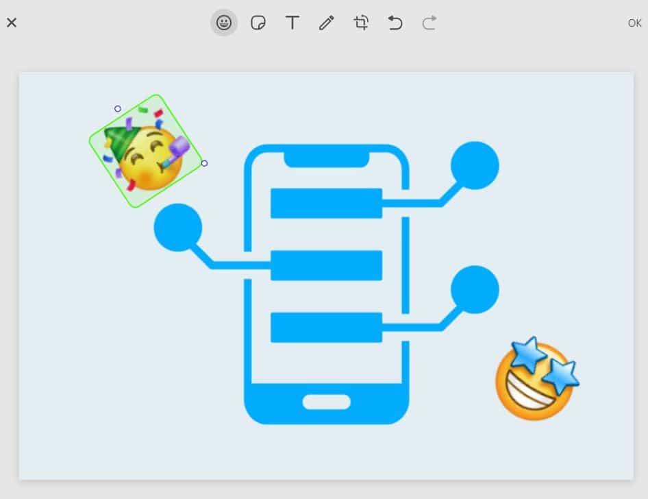 Como usar o novo editor de fotos do WhatsApp Web (Captura: Alexandre Garcia Peres)
