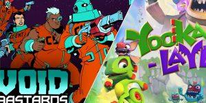 Epic Games Store anuncia os jogos grátis da semana: Void Bastards e Yooka-Laylee (Imagem: Divulgação/Epic Games Store)