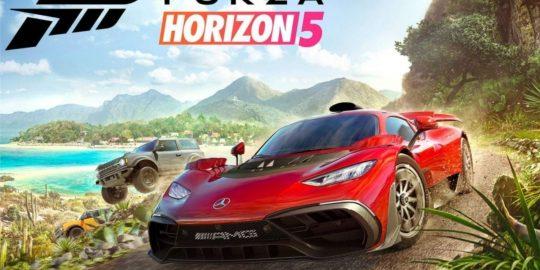 Imagem promocional do novo Forza Horizon 5 (Imagem: Divulgação/Xbox)