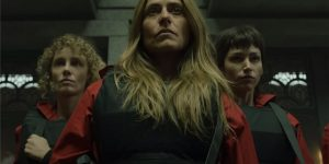 Cena do trailer do Volume 1 da Parte 5 de La Casa de Papel (Imagem: Divulgação/Netflix)