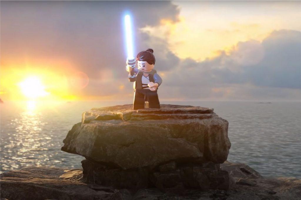 Cena do trailer de gameplay de LEGO Star Wars: The Skywalker Saga (Imagem: Divulgação/LEGO   Lucasfilm Games)