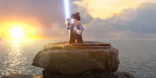 Cena do trailer de gameplay de LEGO Star Wars: The Skywalker Saga (Imagem: Divulgação/LEGO | Lucasfilm Games)