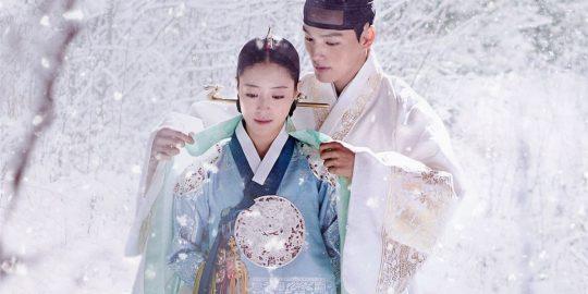Imagem promocional da sérieO Palhaço Coroado(Imagem: Divulgação/tvN)