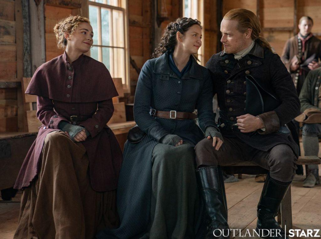 Imagem oficial da 6ª temporada de Outlander (Imagem: Divulgação/Starz)