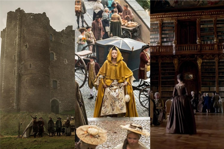 Conheça alguns dos locais reais em que a série Outlander foi gravada (Imagem: Reprodução/Starz)