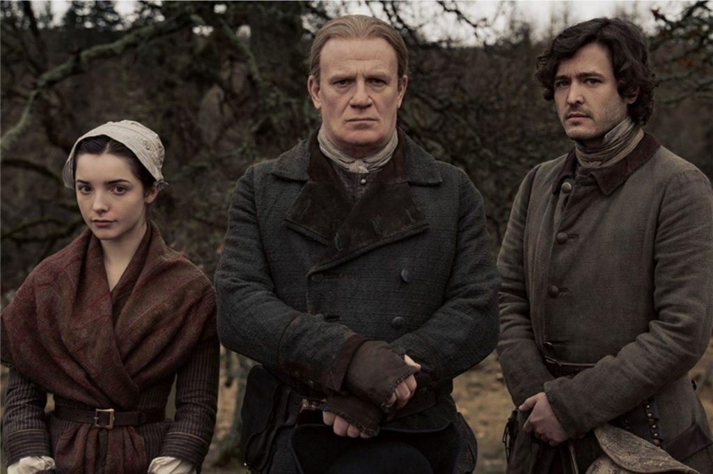 A família Christie na série Outlander (Imagem: Divulgação/Starz | Sony Pictures)