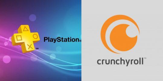 Sony finaliza compra do Crunchyroll e PS Plus pode receber novidades (Imagem: Divulgação/PlayStation Plus   Crunchyroll)