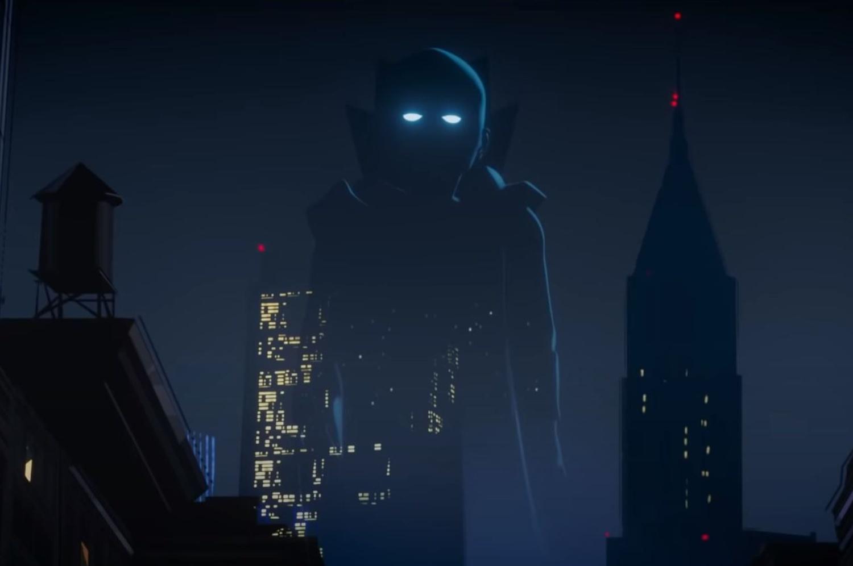 Uatu, O Vigia, em cena do trailer de What if...? (Imagem: Reprodução/Marvel Studios)