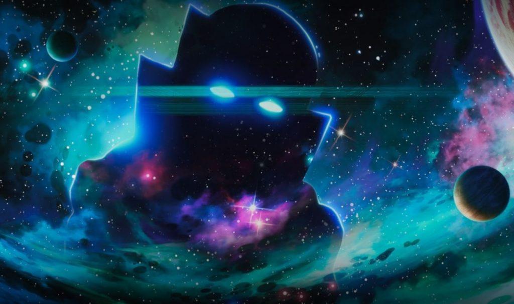 O Vigia, personagem da série What if...? (Imagem: Reprodução/Marvel Studios)