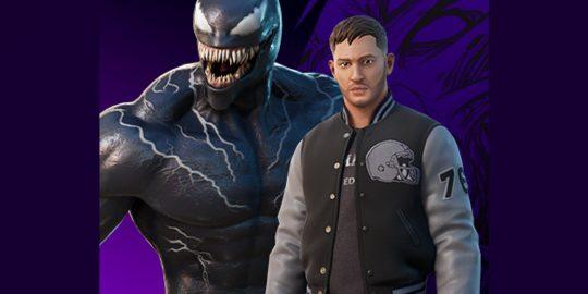 Nova skin de Eddie Brock, o Venom, que está chegando ao Fortnite (Imagem: Reprodução/Reddit   FortniteLeaks)