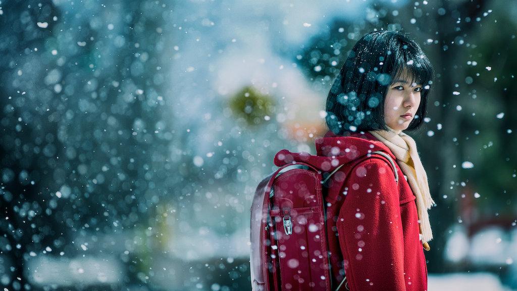 Uma das protagonistas da série japonesa Erased (Imagem: Divulgação/Netflix)
