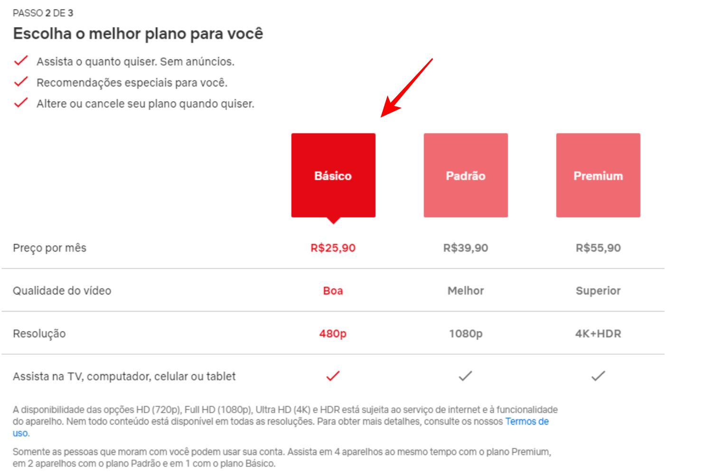 Assinar a Netflix - Escolha o plano ideal para você