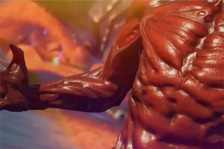 Cena do teaser mostrando supostamente Carnificina no Fortnite (Imagem: Divulgação/Epic Games)