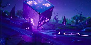 O Cubo Kevin, objeto misterioso presente em boa parte da história do Fortnite (Imagem: Reprodução/Fortnite Fandom)