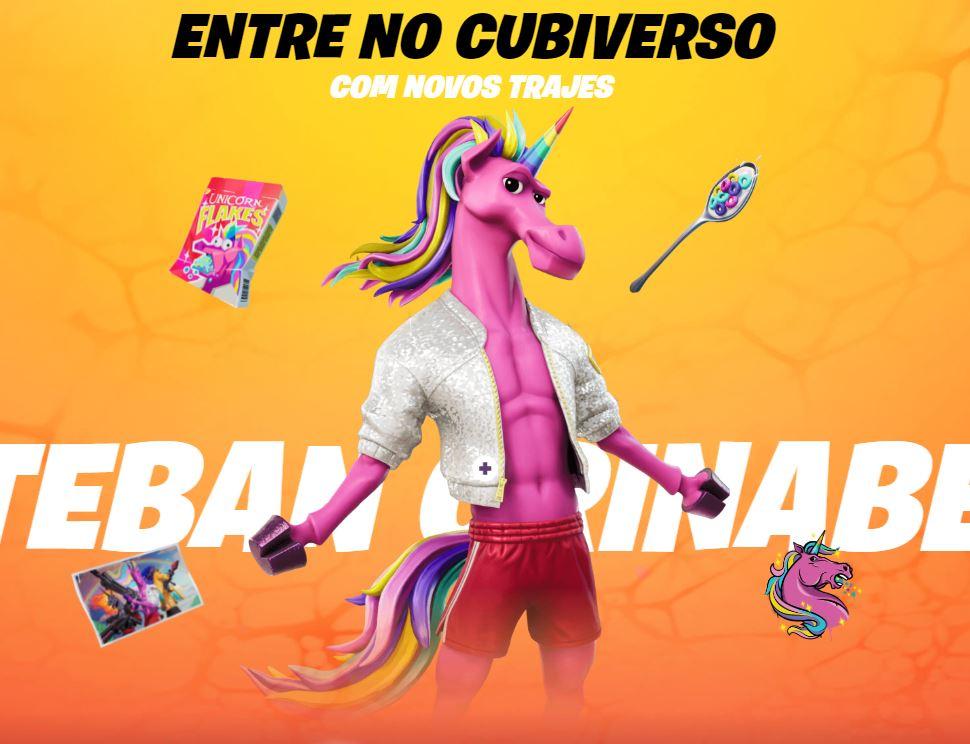 Esteban Crinabela, uma das novas skins do passe de batalha (Imagem: Divulgação/Epic Games)