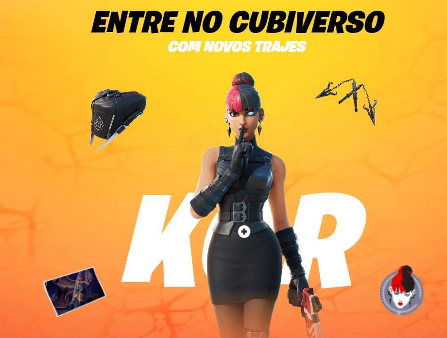 Kor, uma das novas skins do Passe de Batalha (Imagem: Divulgação/Epic Games)