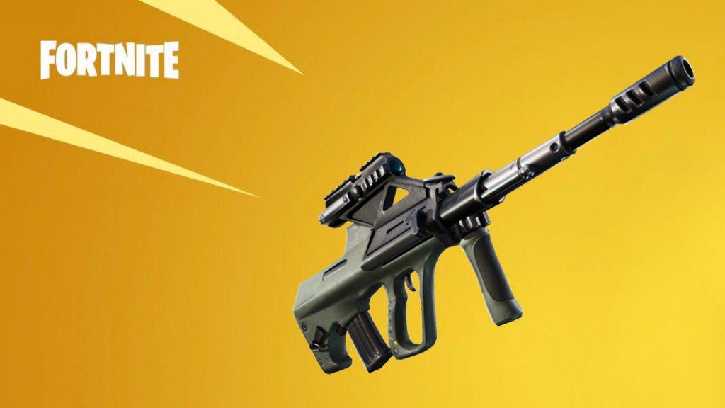Rifle de Assalto com Rajada da Dra. Slone (Imagem: Divulgação/Epic Games)
